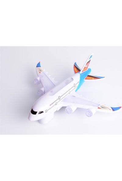Suden Airbus A380 Pilli Işıklı Oyuncak Uçak