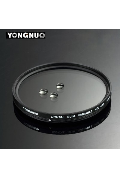 Yongnuo 82Mm Slim Nd2 400 Variable Nd Filtre