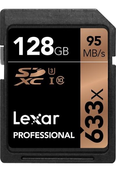 Lexar 128 Gb 633X Professional Sd Hafıza Kartı ( 95 Mbs )