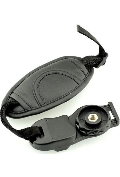Nikon N1 Dslr Hand Strap ( Deri )