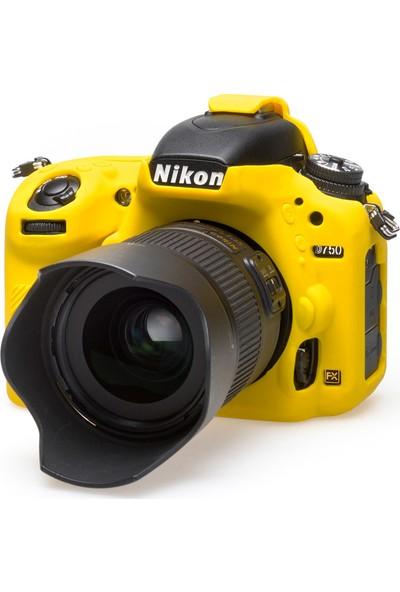 EasyCover Nikon D750 Silikon Kılıf ECND750Y (Sarı)
