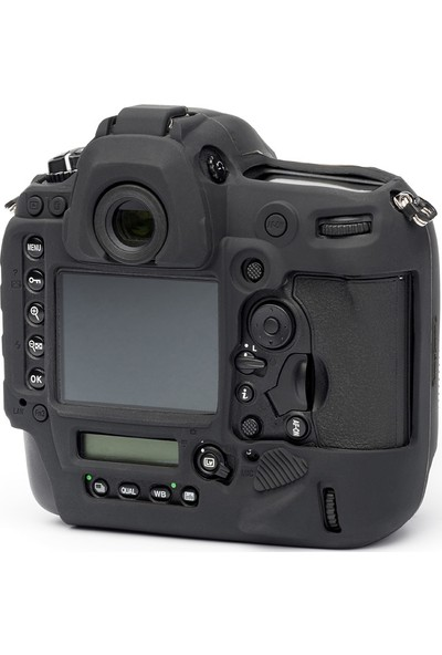 EasyCover Nikon D5 Silikon Kılıf ECND5B (Siyah)