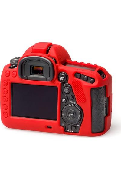 EasyCover Canon 5D Mark IV Silikon Kılıf ECC5DIVR (Kırmızı)