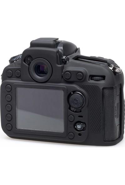 Easycover Nikon D810 Silikon Kılıf ECND810B (Siyah)