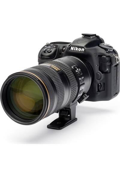EasyCover Nikon D500 Silikon Kılıf ECND500B (Siyah)