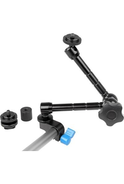 Ayex Magic Arm 11 İnç + 15 Mm Rig Çubuk İçin Kelepçe