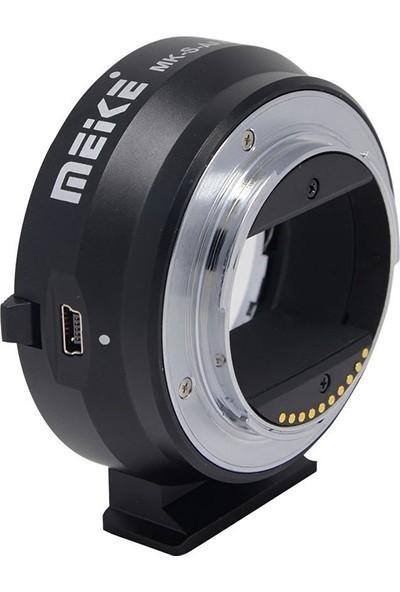 Meike Sony E Mount Nex İçin Canon Ef / Ef-S Af Lens Adaptörü Meike Mk-S-Af4