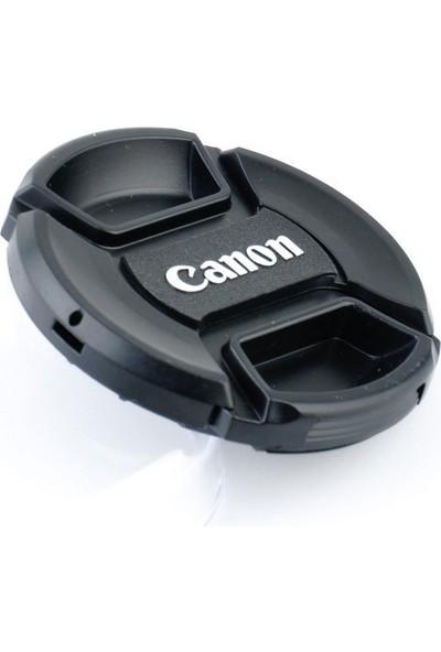 Ayex Canon İçin 58 Mm Snap On Lens Kapağı