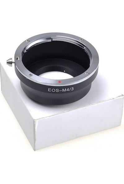 Ayex Olympus Micro 4/3 (M4/3) İçin Canon Eos Lens Adaptörü