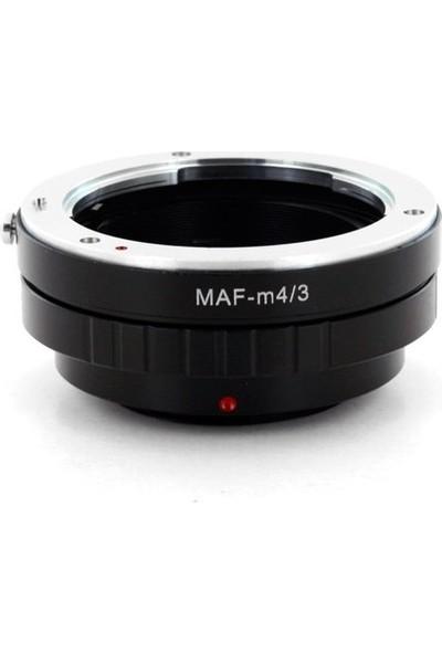 GreenL Olympus Micro 4/3 (M4/3) İiçin Minolta Sony Af Lens Adaptörü