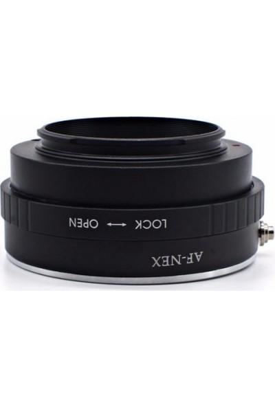 Ayex Sony E Mount Ve Nex İçin Sony A Mout Ve Minolta Lens Adaptörü