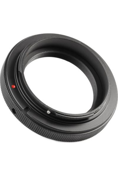Ayex Canon Eos İçin T - T2 Mount Lens Adaptörü