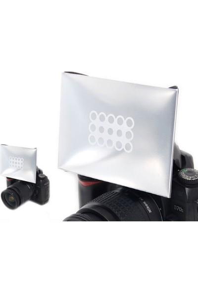JJC Dslr Dahili Flaşlar İçin Soft Box Diffuser Flaş Yumşatıcı JJC Pd-2