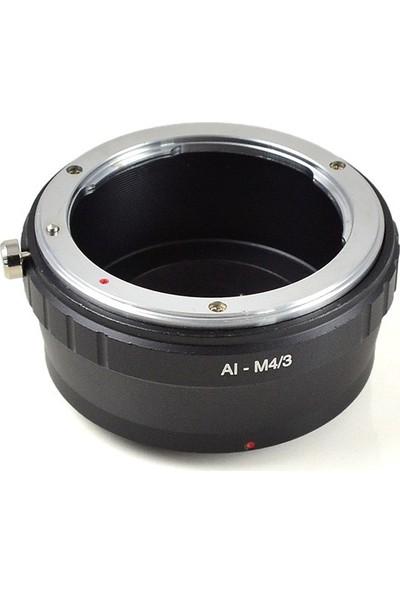 Ayex Olympus Micro 4/3 (M4/3) İçin Nikon Lens Adaptörü
