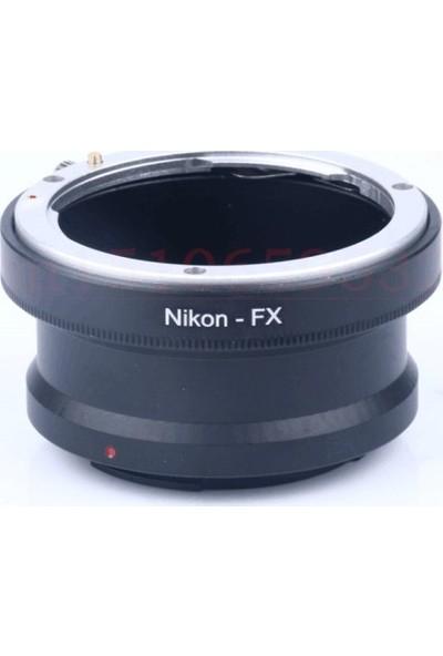 Ayex Fujifilm X-Pro1 X-M1 X-E1 X-E2 İçin Nikon Lens Adaptörü
