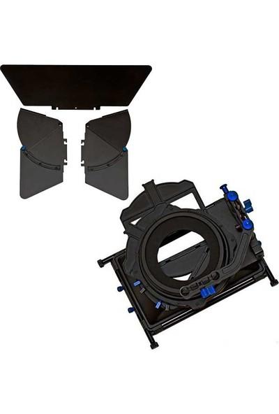 Ayex Matte Box M2 15 Mm Dslr Rig Sistemleri İçin Professional Dslr Video Matte Box