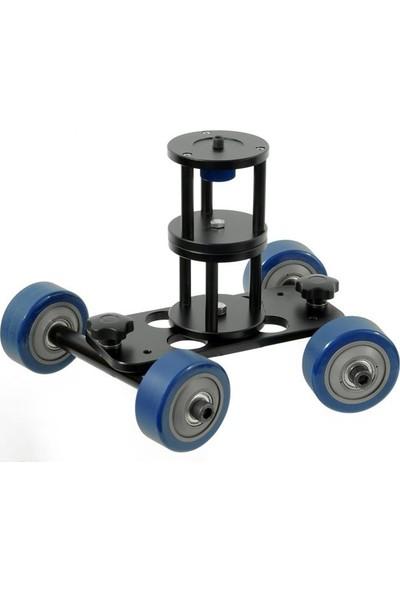 Ayex Dslr Makinalar İçin Big Dolly D2 Kit Skater (Kamera Arabası)