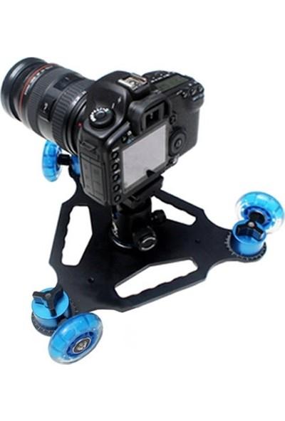 Ayex Dslr Makinalar İçin Dolly D3 Kit Skater 3 Tekerli