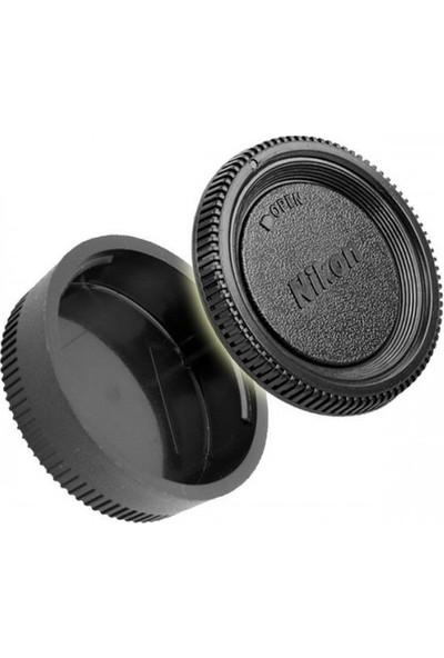 Ayex Nikon Makine Body Ve Lens Arka Kapak Seti