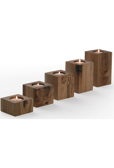 Kütük House Mumluk Set 5'Li