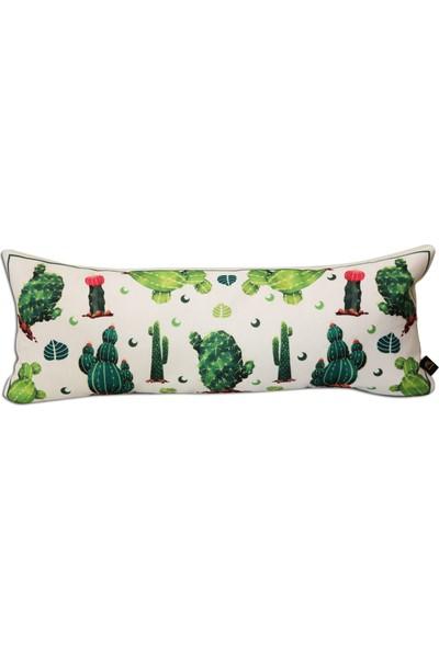 Demeter Tekstil Tasarım Dekoratif Kırlent Kaktüs