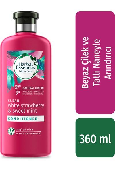 Herbal Essences Beyaz Çilek ve Tatlı Nane 360 ml Saç Bakım Kremi