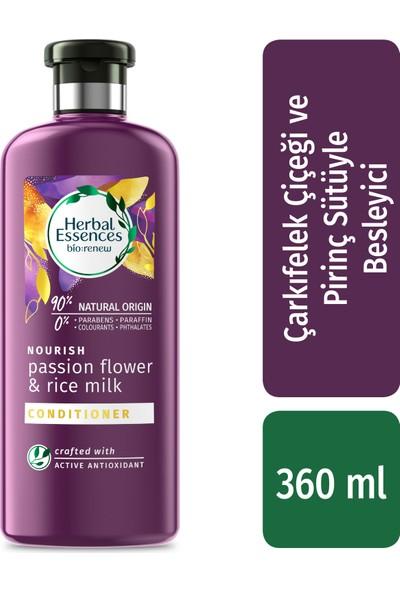 Herbal Essences Çarkıfelek Çiçeği ve Pirinç Sütü 360 ml Saç Bakım Kremi