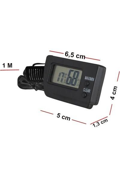 Aek-Tech Dijital Min-Max Prob Termometre Nem Ölçer