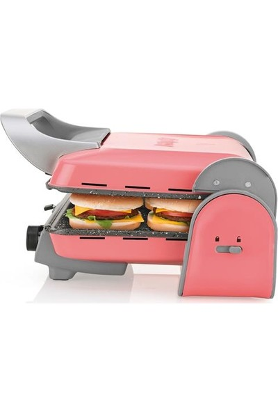 Arzum Ar2013 Panini Color Izgara Ve Tost Makinesi - Mercan