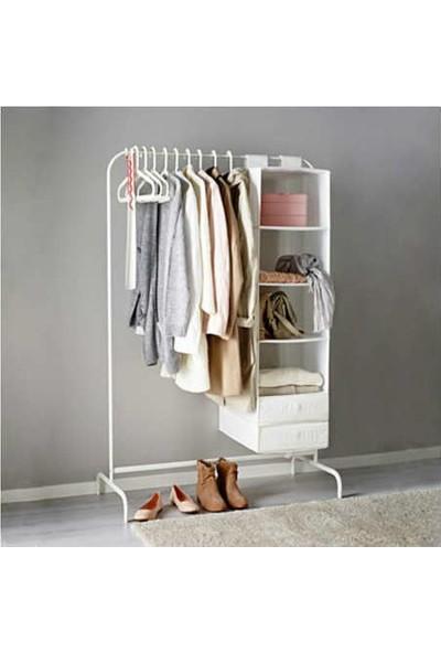 İkea Mulig Ayaklı Elbise Askısı Ayaklı Elbise Konfeksiyon Metal Askı