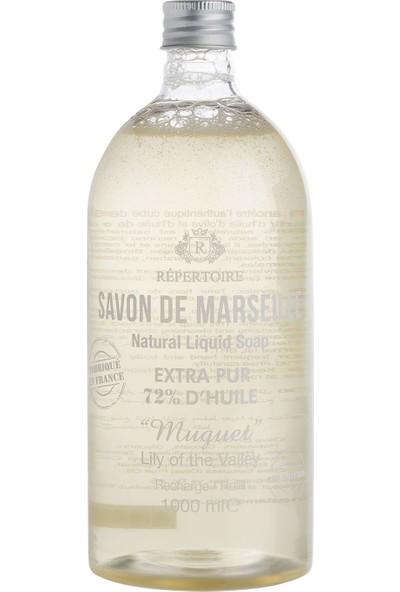 Madame Coco Répertoıre Sıvı Sabun Refill Ekonomik Şişe - Savon De Marseille Zeytinyağlı 1000 Ml Muguet Müge Çiçeği