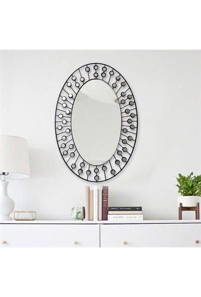 Baupor Elips Dresuar Ayna Dekoratif Duvar Aynası