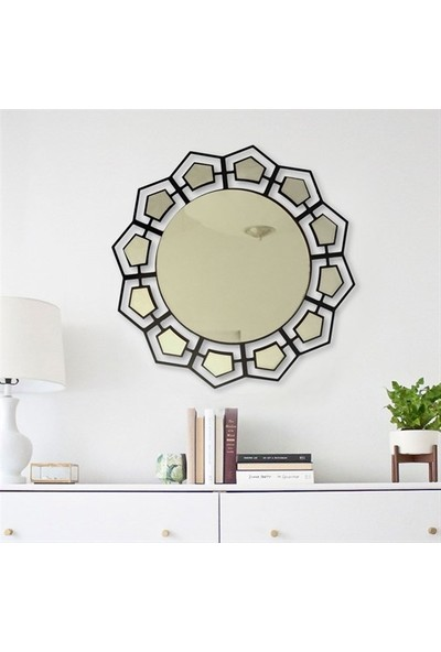 Baupor Vina Dresuar Ayna Dekoratif Duvar Aynası