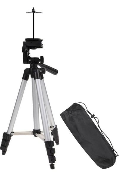 Hobimtek Profesyonel Kamera ve Cep Telefonu Tripodu 111 Cm Su Terazili