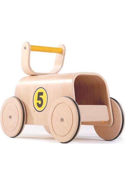 Mamatoyz 05 Yarışçı Devrilmez Yürüteç - İlk Adım Arabası - Oyuncak Deposu