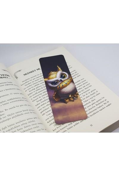 İstisna Düz Kesim Yavru Baykuş Kitap Ayracı