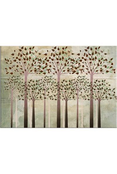 Özverler Ağaçlar Kanvas Tablo REGE-125