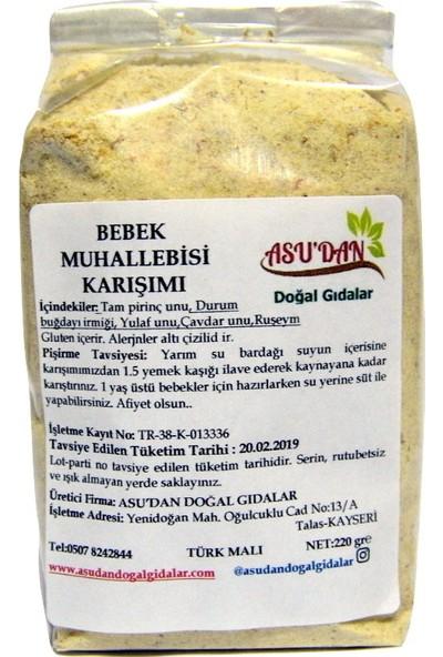 Asudan Doğal Gıdalar Bebek Muhallebisi Karışımı 220 gr