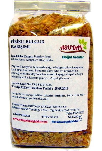 Asudan Doğal Gıdalar Firikli Bulgur 300 gr
