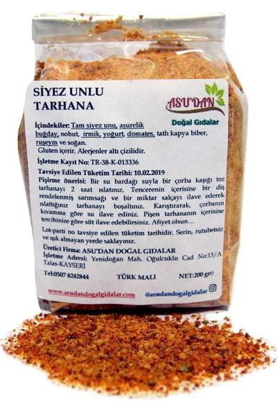 Asudan Doğal Gıdalar Siyez Unlu Tarhana 200 gr