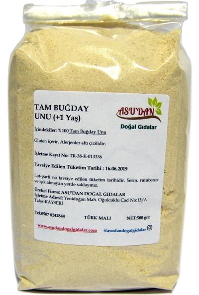 Asudan Doğal Gıdalar Tam Buğday Unu 500 gr