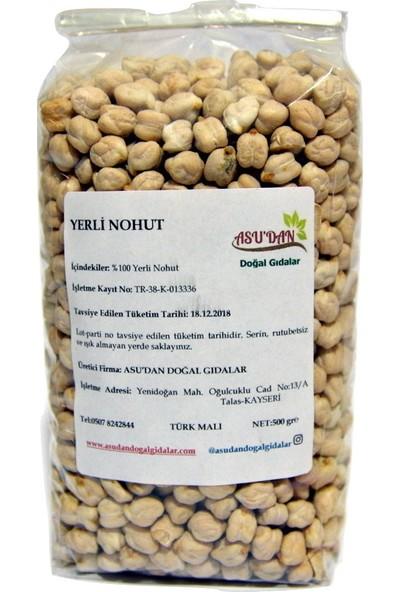 Asudan Doğal Gıdalar Yerli Nohut 500 gr