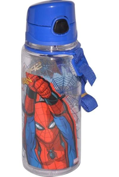 Hakan Çanta Örümcek Adam 500 ml Şeffaf Kırılmaz Matara 78749