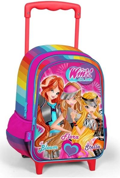 Yaygan Winx Club Kızları Çekçekli İlkokul Çantası 63255