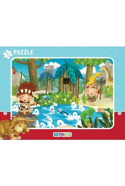 Blue Focus 72 Parça Büyük Boy Çocuk Puzzle (Balık Avı)