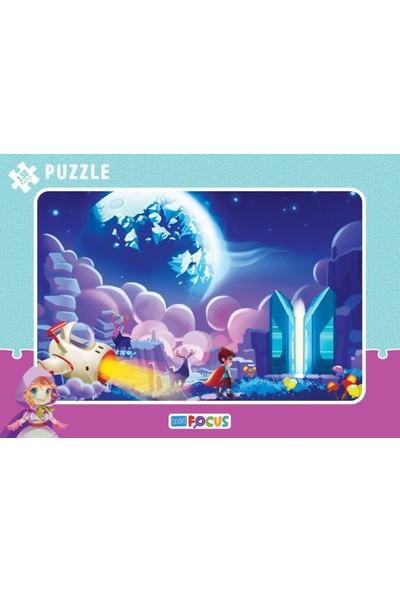 Blue Focus 130 Parça Fantastik Yolculuk Büyük Boy Puzzle (45x32 cm)