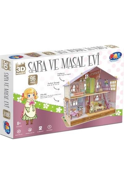 Pal Oyuncak 3D Sara ve Masal Evi Maket