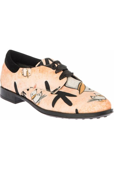 Pembe Potin Pudra Kadın Casual Ayakkabı