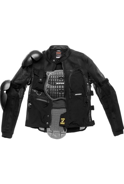 Spidi Multitec Armor Evo File Koruma Siyah