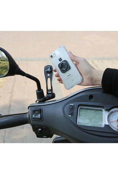 Cube X-Guard Telefon Taşıyıcı Ayna Bağlantısı Siyah